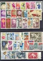 FRANCE STAMP ANNEE COMPLETE 1968 : 40 TIMBRES NEUFS xx TTB