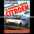 AUTO-JOURNAL N°2-1985 MERCEDES 190 E 2.3 1, ALPINE V6 GT & TURBO, R5 GT TURBO6