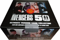 Avengers TV 50th Anniversary Factory Sealed Box w/ 3 Autograph & 2 Sketch Card