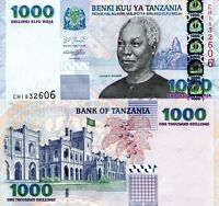 TANZANIA 1000 Shillings Banknote World Paper Currency Money p36 Bill UNC Note
