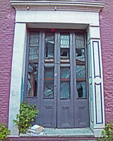 Weathered French Quarter Doors NEW ORLEANS 8x10 Photo Signed by Louis Maistros