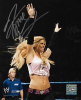 WWE TORRIE WILSON SIGNED 8X10 PHOTOFILE WITH C.O.A