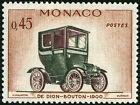 "MONACO STAMP TIMBRE N° 567 ""AUTOMOBILE, DE DION-BOUTON 45 C"" NEUF xx TTB"
