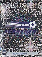 Panini Sammelbilder Fußball WM 2010 Nr. 601 Honduras Wappen Logo Glitzersticker