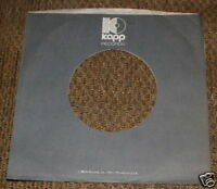 KAPP RECORDS COMPANY logo black PAPER SLEEVE Jacket Cover for Vinyl Records ♫EXC