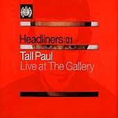 Ministry Of Sound - Headliners ( Live at the Gallery) (2 X CD ' Taul Paul)