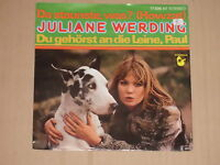 """JULIANE WERDING -Da staunste, was?- 7"""" 45"""