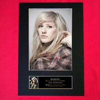 ELLIE GOULDING #1 Signed Autograph Mounted Photo Repro A4 Print 222