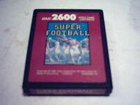 ATARI 2600 7800 GAME;  SUPER FOOTBALL  1988 Red Label Cartridge Only  *Rarity 2*