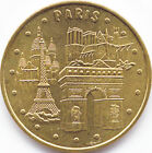 75001 PARIS 4 MONUMENTS MÉDAILLE MONNAIE DE PARIS 2015 JETON TOKEN MEDALS COINS