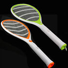 Orange LED Electronic Racket Fly Insects Killer Mosquito Swatter Bug Zapper
