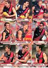 2001 ESP AFL Heroes Cards Base Team Set Essendon(9)