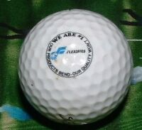 """LOGO GOLF BALL=FLEXONICS Company""""We Are #1"""" Our Products Bend*Golfball*Titleist"""