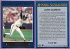 1992 Fleer Rookie Sensations Juan Guzman Toronto Blue Jays #13 Single