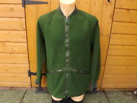 GENUINE BRITISH ARMY FLEECE OLIVE GREEN **USED**