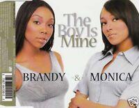 BRANDY & MONICA The Boy Is Mine MCD 1998 RAR &  WIE NEU 90s R&B Klassiker !