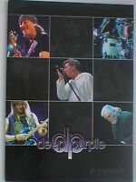 DEEP PURPLE in concert 2002 tour programme 32 pages JON LORD