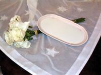 edles Tableau Tablett für Milch und Zucker Hutschenreuther Windsor rose top
