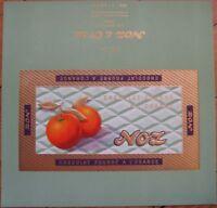 1940's French, Orange Chocolate Bar Label - 'Noz & Co.'