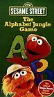 Sesame Street - The Alphabet Jungle Game (VHS, 1998)