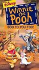 Winnie the Pooh - Boo to You Too (VHS, 1997)