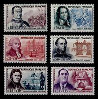 PIPOLES de 1961, Neufs * = Cote 19 € / Lot Timbres France 1295 à 1300