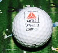 LOGO GOLF BALL=Citgo Fuel/Gasoline/Gas Company Corporation,The Golfball===9/10