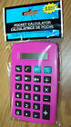 new POCKET CALCULATOR math groceries small for purse PINK nip simple basic girls