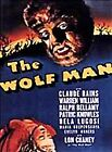 The Wolf Man (DVD, 1999, Subtitled French)