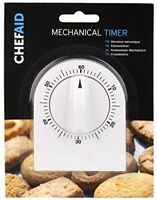 Mechanical Timer For Kitchens In White Chef Aid