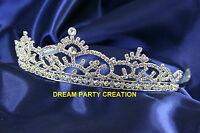 Wedding Bridal TIARA High Quality Clear Austrian Crystal Rhinestone S4562