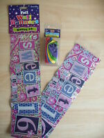AGE 16 SWEET 16th BIRTHDAY PARTY BANNER & PACK OF 10 BALLOONS