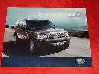 "LAND ROVER Discovery ""Family Limited Edition"" Sondermodell Prospekt von 2010"