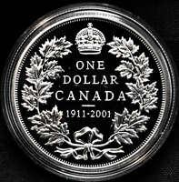 2001 Canada Special Edition Proof Silver Dollar