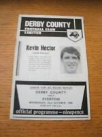 23/10/1968 Derby County v Everton [Football League Cup] . No obvious faults, unl