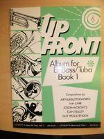 UP FRONT Book 1 Tuba Treble Clef pub. Brass Wind