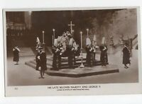 His Late Beloved Majesty King George V Lying In State Westminster Hall RP 0676