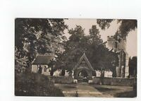 St Marys Church Wendover Vintage RP Postcard 0683