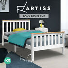 NEW Wooden Bed Frame PONY King Single Pine Wood Kid Child Adult Timber Slat