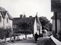 Trottescliffe, Kent, superb 1950 photographic view