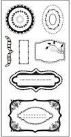Fiskars Rubber Stamps - Accents - Frames, Brackets