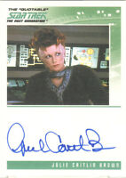 "Quotable Star Trek TNG - Julie Caitlin Brown as ""Vekor"" Auto/Autograph"