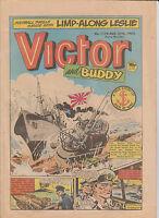 VICTOR COMIC August 27th 1983  # 1175 Original Birthday Gift ! War stories