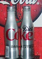 2009 ALUMINUM 8.5 OUNCE DIET COCA - COLA BOTTLE  FULL