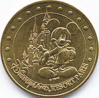 77 DISNEY LE CHÂTEAU DE MICKEY MÉDAILLE MONNAIE DE PARIS 2003 JETON MEDALS COINS