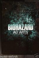 JAPAN Resident Evil Biohazard AD ARTS COLLECTION art book oop