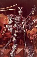 KISS Gene Simmons Closeup Dynasty 1980's tour makeup 3 x 5 photo