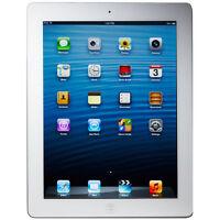 "Apple iPad 4 9.7"" Tablet 16GB Wi-Fi + AT&T 4G - White (MD519LL/A)"