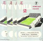 ASTON VILLA v  NEWCASTLE UNITED     1949/50
