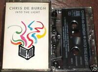 CHRIS DE BURGH INTO THE LIGHT CASSETTE